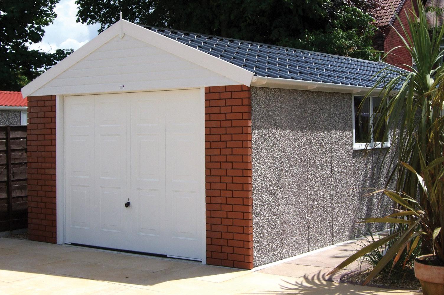 Monarch Garage Apex Roof Nicholls